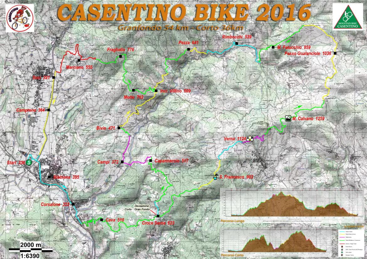 Casentino bike 2016 - corto-lungo_poster